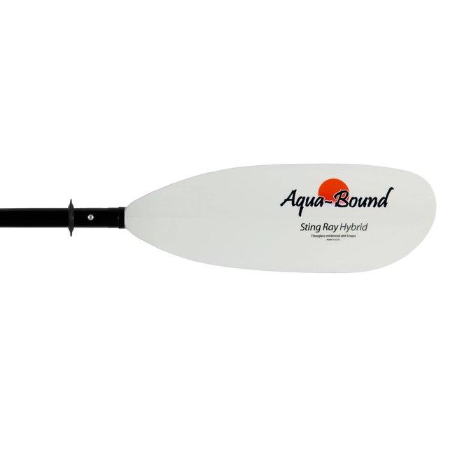 Aquabound Sting Ray Hybrid FG 4-Piece Posi-Lok Kayak Paddle
