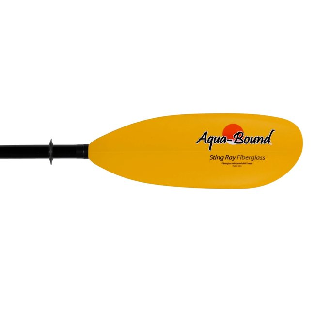 Aquabound Sting Ray Fiberglass 2-Piece Kayak Paddle
