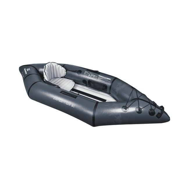 Aquaglide Backwoods Expedition 85 Inflatable Single Recreational Kayak