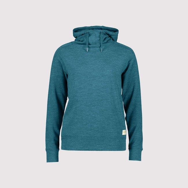 Mons Royale Women's Covert Lite Funnel Hooded Sweater