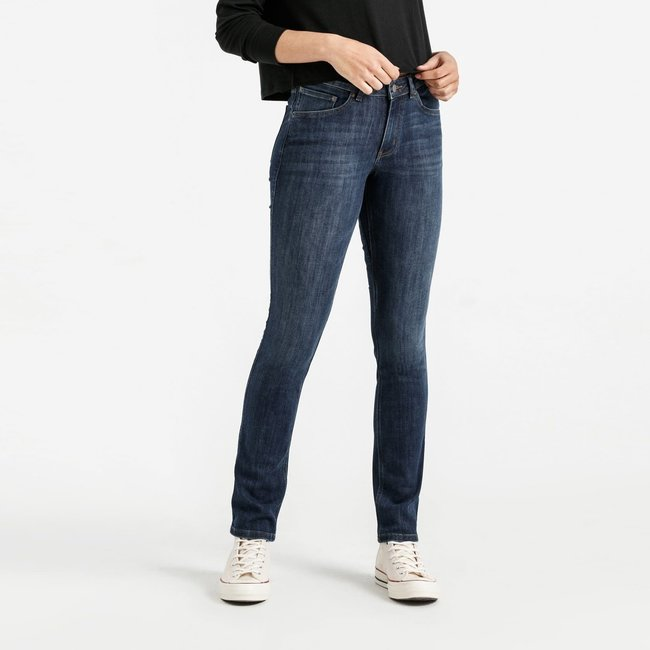 Duer Women's Performance Denim Slim Straight Jeans