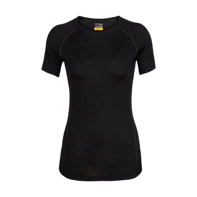 Icebreaker Women's Merino 150 Zone Short Sleeve Crewe Thermal Top