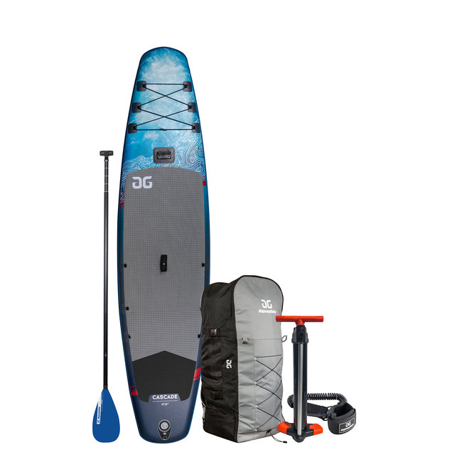 Aquaglide Inflatable AG Cascade 11' SUP Package