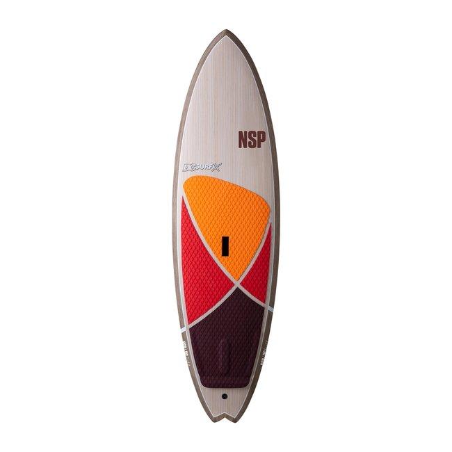 "NSP SLX DC Surf X SUP 8'6"""