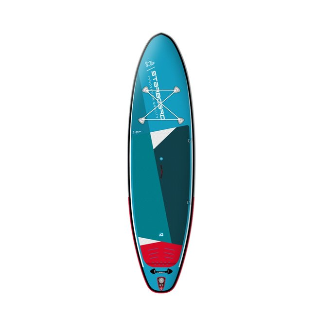 """Starboard Inflatable iGO 11'2"""" x 31"""" Zen Single Chamber Recreational Stand Up Paddleboard 2021"""
