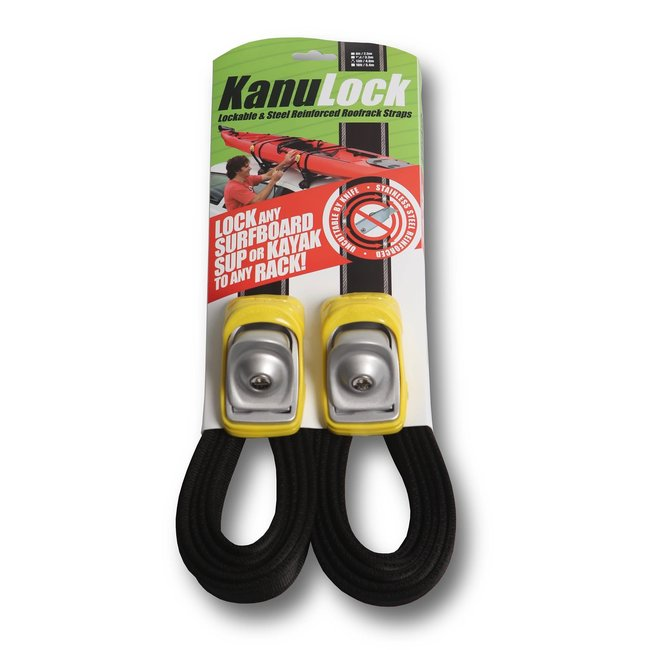 KanuLock Kanu Lock 13'/4m Lockable Cable Reinforced Tie-Downs