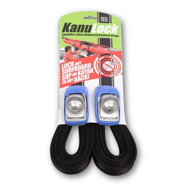 KanuLock Kanu Lock 18'/5.4m Lockable Cable Reinforced Tie-Downs