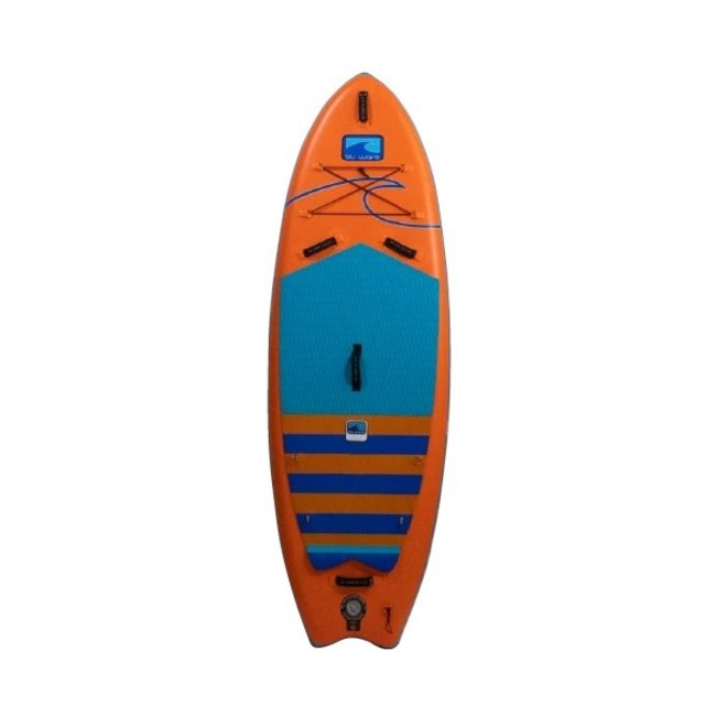 """Blu Wave Inflatable The Quiv-AIR 9'6 x 36"""" Stand Up Paddleboard"""