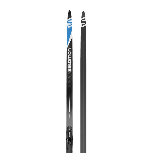 Salomon S/Max Carbon Skate Cross Country Ski + Prolink Shift-In Bindings