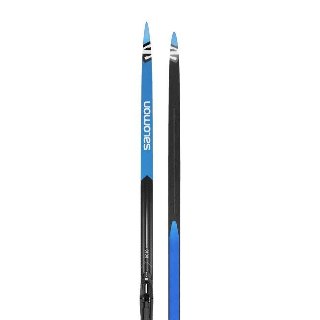 Salomon RC 10 eSkin Cross Country Ski + Prolink Shift-In Bindings