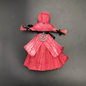 Pentacle of Protection Corn Husk Charm Doll