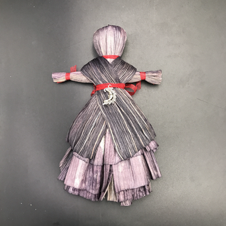 Star of Healing Corn Husk Charm Doll