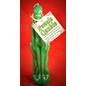 Green Female Image Candle