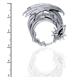 Peter Stone Dragon Moon Pendant