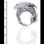 Hex Dragon Moon Pendant