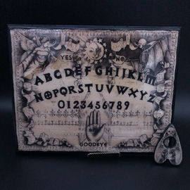 Sabrina The Ink Witch Spirit Board in Wood Finish