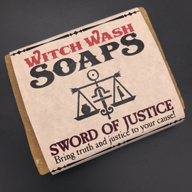 Ancient Alchemy Sword of Justice - Witch Wash Soaps