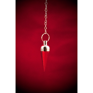 Silver Round Plain Pendulum