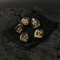 Black Agate Witch's Rune Set