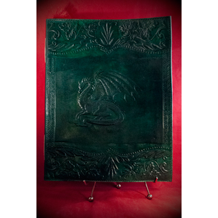 Small Dragon Journal in Green