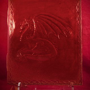 Hex Small Dragon Journal in Red