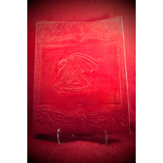 Large Dragon Journal in Red