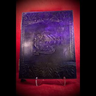 Large Dragon Journal in Purple