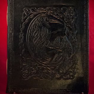 Hex Small Raven Journal in Black