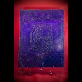 Large Raven Journal in Purple