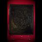 Small Herbal Pentagram Journal in Black