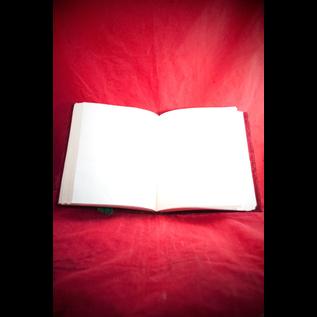 Large Herbal Pentagram Journal in Red