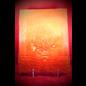 Large Herbal Pentagram Journal in Orange