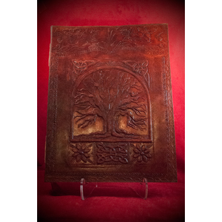 Large Tree of Life Journal in Brown
