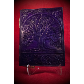 Large Tree of Life Journal in Purple
