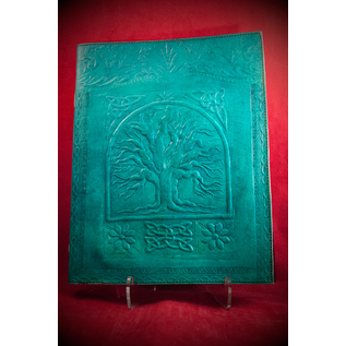 Large Tree of Life Journal in Blue