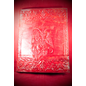 Hex Large Baphomet Journal in Red
