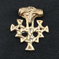 Hex Thor's Hammer Hiddenssee in Bronze