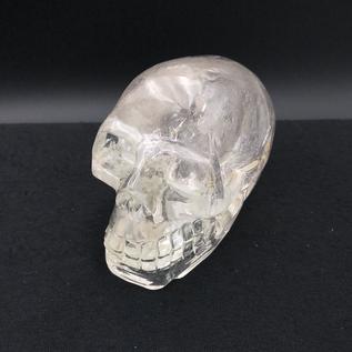 Hex Hand Carved Quartz Skulls