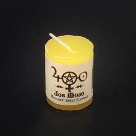 Dark Candles Hex Votive Candle - Job Mojo