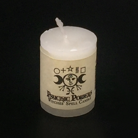 Dark Candles Hex Votive Candle - Psychic Powers