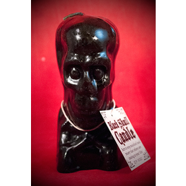 Black Skull & Cross Bone Candle