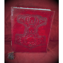 Small Mjolnir Journal in Red