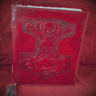 Hex Small Mjolnir Journal in Red