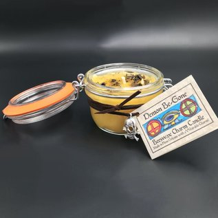 Hex Demon Be-Gone Beeswax Charm Candle 5.4oz