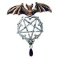 Hex Lamia Pendant: Darkness and Renewal