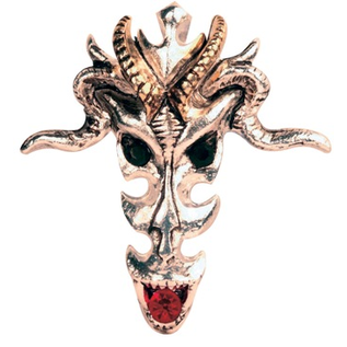 Dragon Skull Pendant: Wealth & Riches
