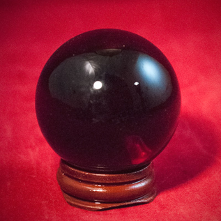 Hex 50mm Red Crystal Ball