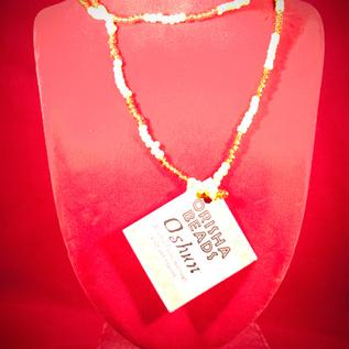 Hex Oshun Orisha Beads