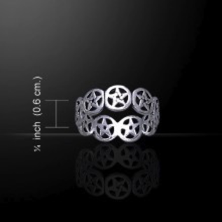 Pentacles Ring