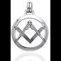 Compass Square Pendant